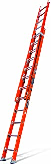 Little Giant Ladders 15641-009 Lunar Duty Rating Fiberglass Extension Ladder, 24-Feet 300-Pound