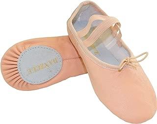 Child Split Sole Leather Ballet Slipper