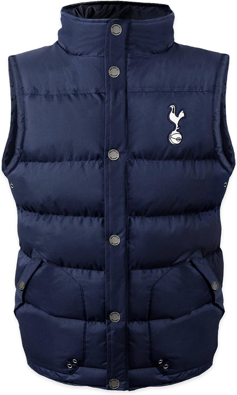 Tottenham Hotspur FC Official Gift Boys Padded Body Warmer Jacket Gilet