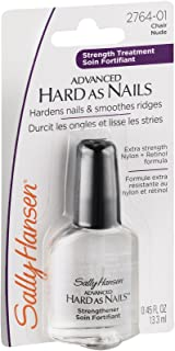 Sally Hansen Hard As Nails With Nylon Nude 0.45 Ounce Blister (13ml) (2 Pack)