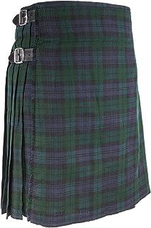 Best Kilts Men's Traditional Scottish 5 Yard Black Watch Tartan Kilt