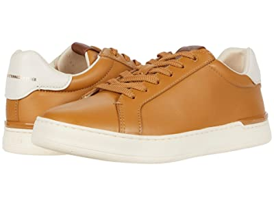 COACH Glove Tanned Tennis Cup Sole (Light Toffee) Men