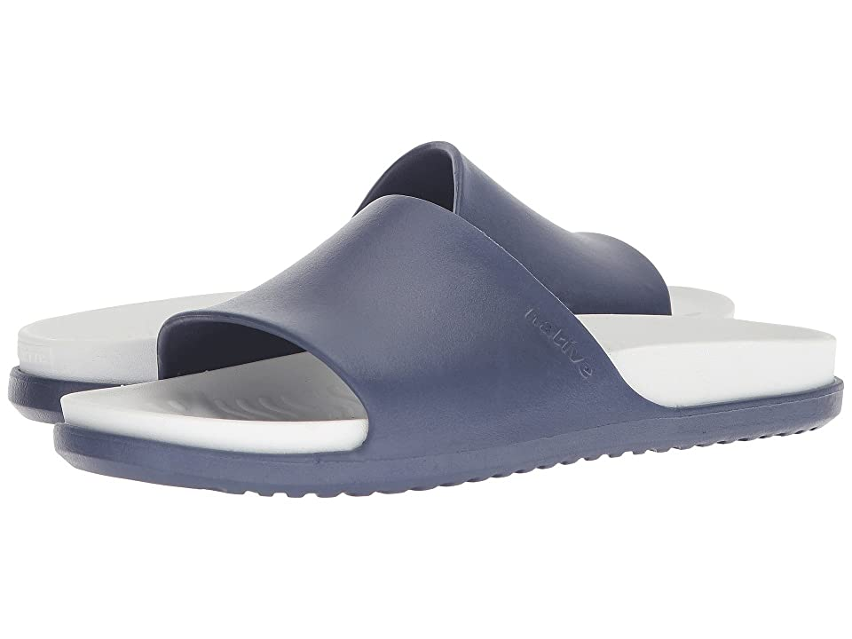 Native Shoes Spencer LX (Regatta Blue/Shell White) Sandals