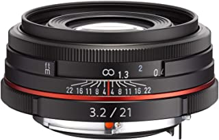 Pentax K-Mount HD DA 21mm f/3.2 ED AL 21-21mm Fixed Lens for Pentax KAF Cameras