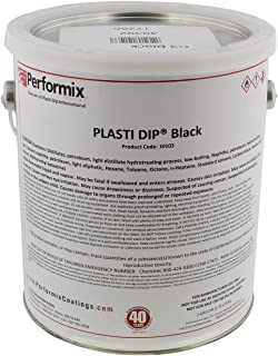 Plasti Dip Multi-Purpose Rubber Coating - One Gallon (128oz) - BLACK