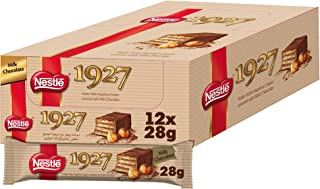 NESTLE 1927 Wafer covered in milk chocolate 28g, Pack of 12