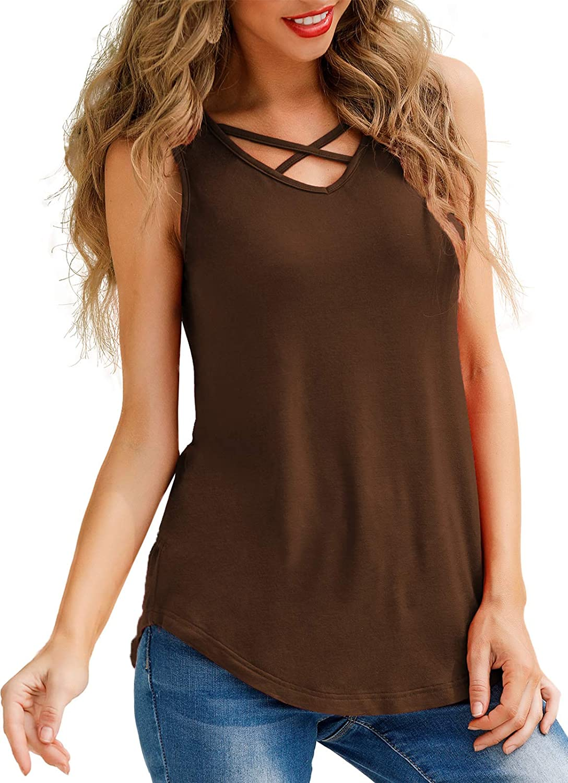 Lamilus Women's Tulsa Mall V-Neck T-Shirt Long T Sleeve Albuquerque Mall Loose Casual Blouse
