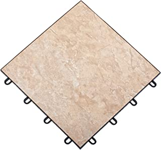 TileFlex Floor Tiles (Beige) (.5