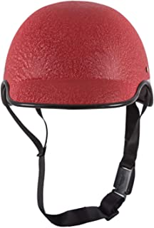 TRYFLY All Purpose Safety Helmet with Strap (Mini RED cap, Free Size)