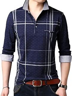[CEEN] ポロシャツ メンズ コットン 長袖 カジュアル スポーツ キレイ目
