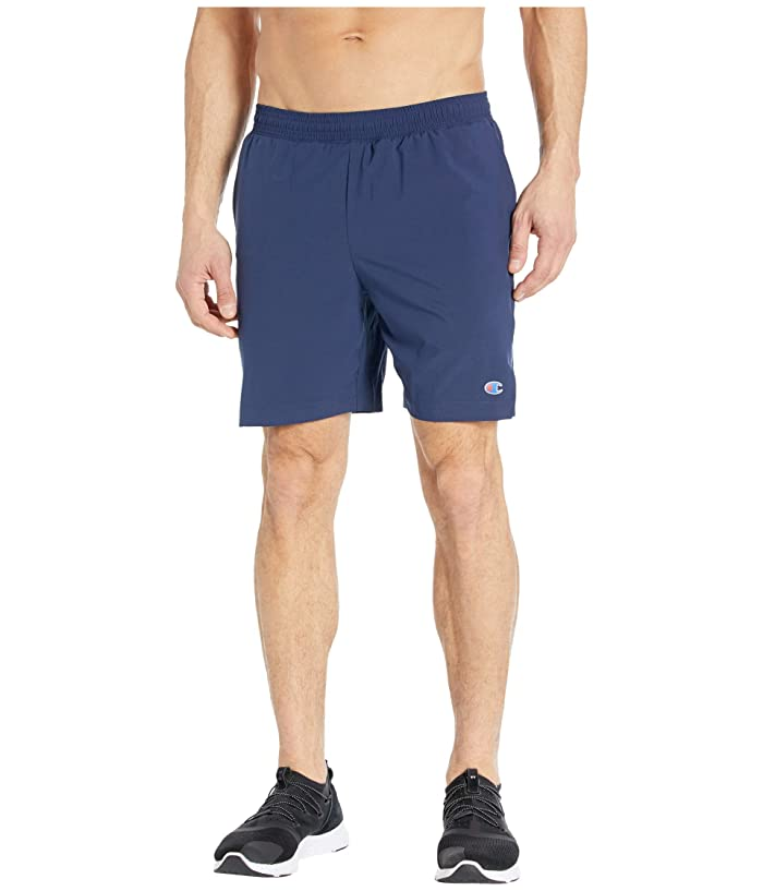 Champion  7 Sport Shorts with Liner (Athletic Navy) Mens Shorts