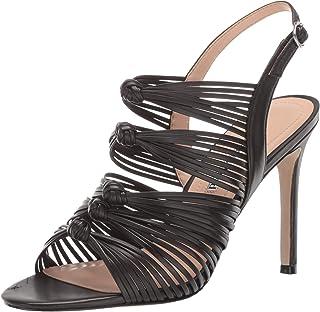 Charles David Women's Crest Heeled Sandal black 6 M US