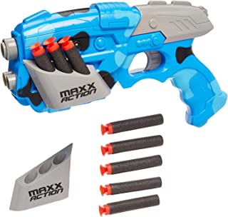 Galactic Alien Photon Blaster – Pretend Play Toy Dart Gun For Kids 8 Suction Cup Foam Darts and Wall Target NERF Dart Comp...