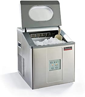 Continental Electric PS78149 Portable Ice Maker, not a freezer, 33lb Size, Stainless Steel