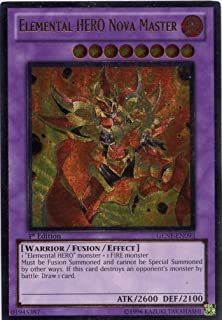 Yu-Gi-Oh! - Elemental HERO Nova Master (GENF-EN093) - Generation Force - 1st Edition - Ultimate Rare