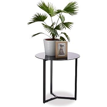 tavolino da caff/è Oak 57 x 40 x 30 cm Hocuspicus Anthracite Tavolino a C da salotto