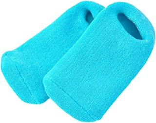 Pinkiou Calcetines de gel de silicona para pie agrietado seco Hidratante Blanqueamiento Suavizante