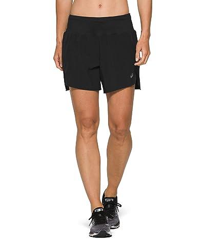 ASICS Road 5.5 Shorts (Performance Black) Women