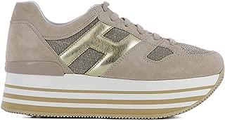 Hogan Luxury Fashion Womens HXW2830U352IJJ0QAL Beige Sneakers | Season Permanent
