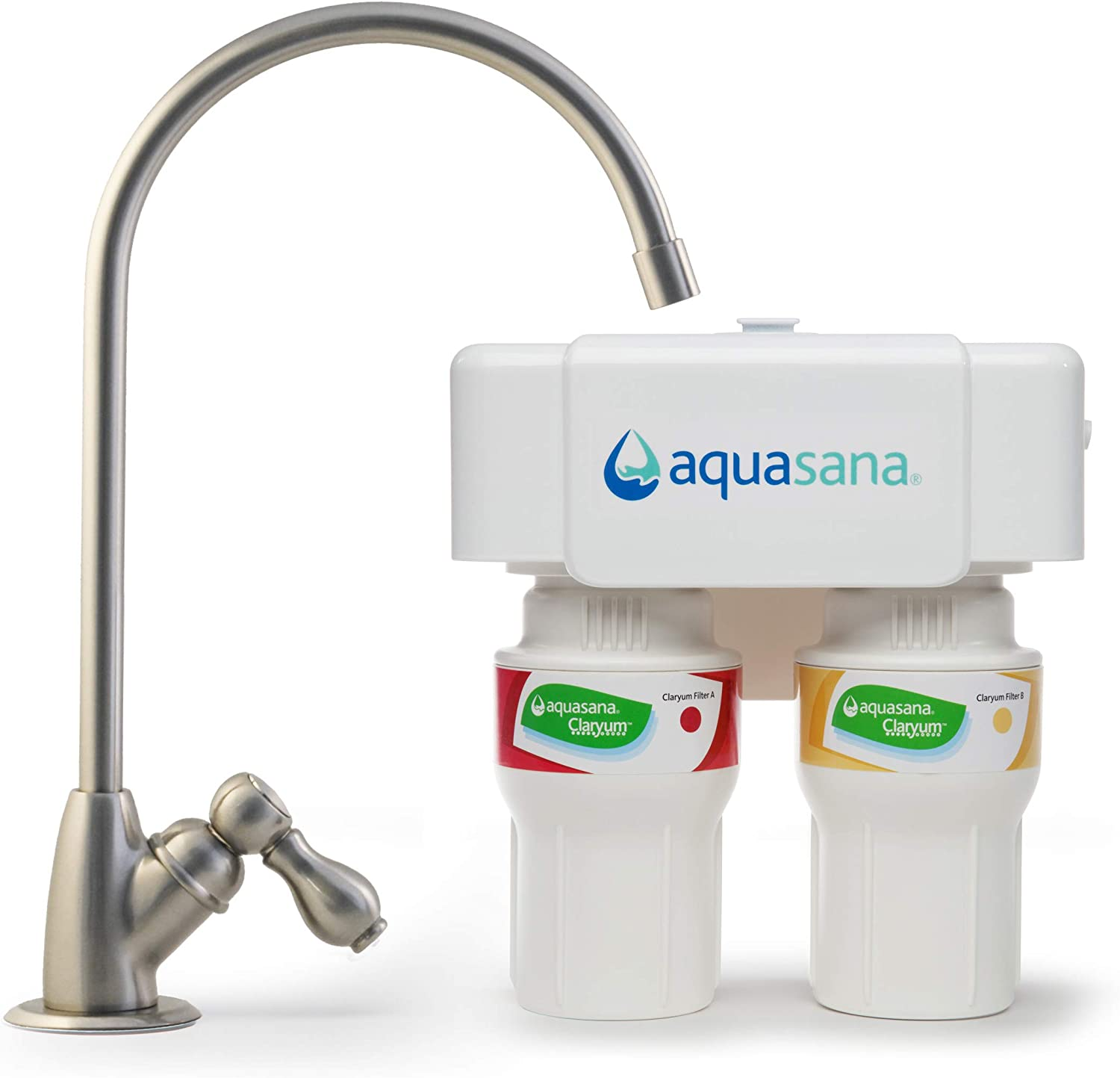 Aquasana AQ-5200.55 Challenge the lowest price of Japan ☆ 2-Stage Under Sink with System Filter Water Sale
