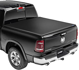 Lund Genesis Elite Tri-Fold, Soft Folding Truck Bed Tonneau Cover | 958121 | Fits 2014 - 2021 Toyota Tundra w/track system...