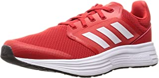 Adidas Galaxy 5 Mesh Side-Stripe Back-Logo Lace-Up Running Sneakers for Men