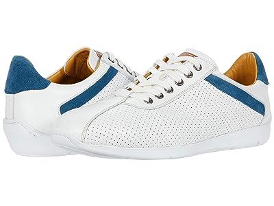 Mezlan Kalem (White/Blue) Men