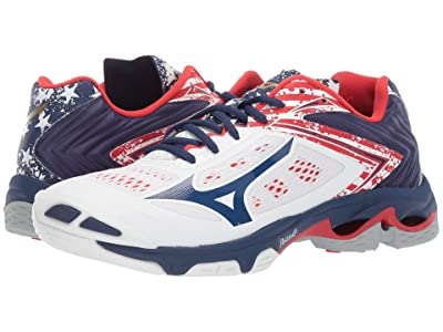 Mizuno Wave Lightning Z5 (Stars/Stripes) Women