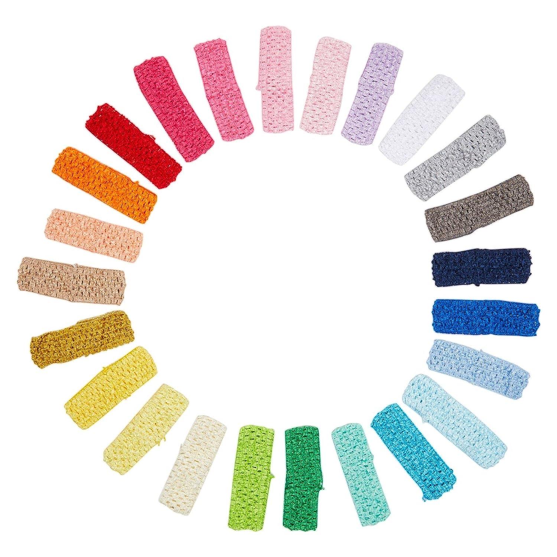 Detroit Mall Crochet Headbands Sale SALE% OFF for Women Teens 24 Pack Colors Girls