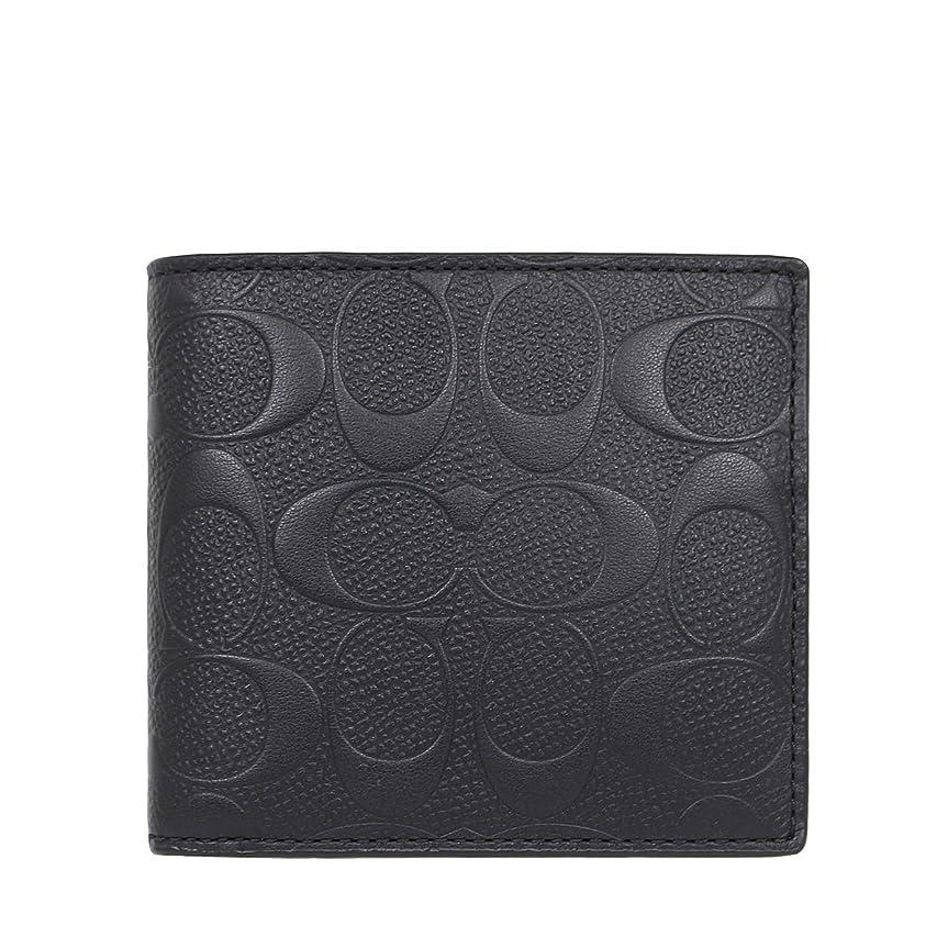 アンカー略す堤防[コーチ] COACH 財布 (二つ折り財布) F75363 シグネチャー 二つ折り財布 メンズ [アウトレット品] [並行輸入品]