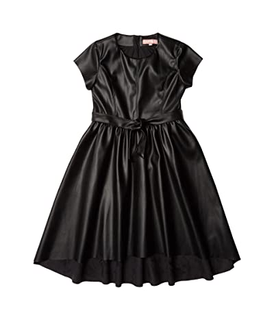 BCBG Girls Pullover High-Low Dress (Big Kids) (Black) Girl