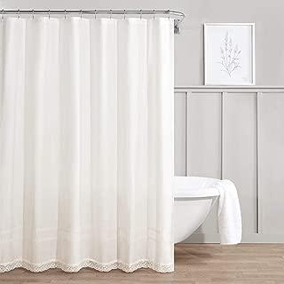 Laura Ashley Annabella Shower Curtain, 72x72, White