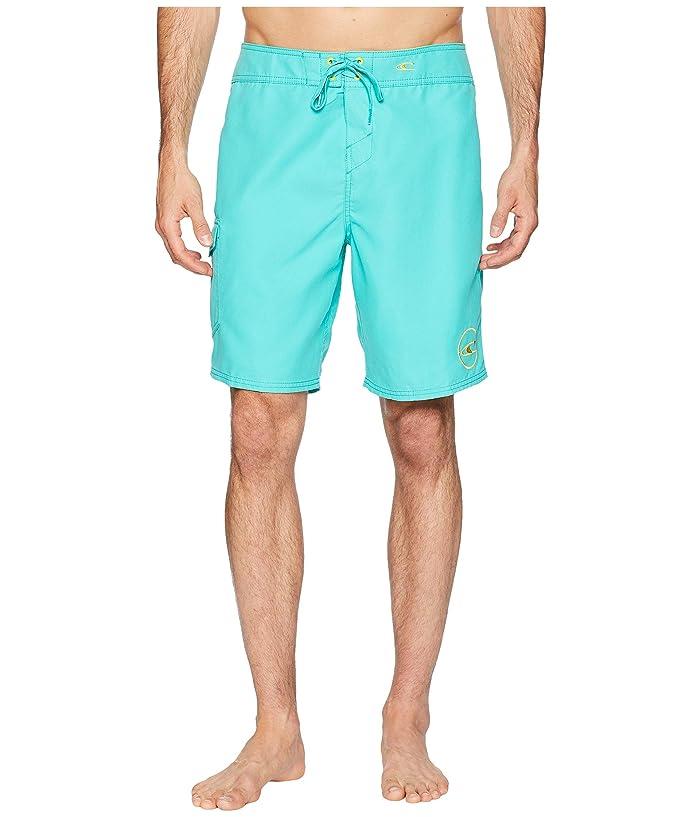 c439efa794 O'Neill Santa Cruz Solid 2.0 19 Boardshorts (Aqua) Men's Swimwear