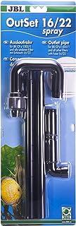 JBL OutSet spray 16/22 CristalProfi e1500/1,2, Water outlet set with 2-part spray bar for aquariums
