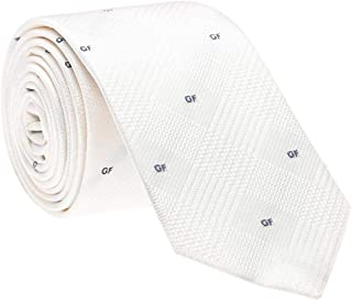 Gianfranco Ferre Off White Neck Ties For Men