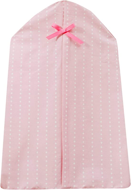Bedtime Originals Twinkle Toes Bow Diaper Stacker Pink White