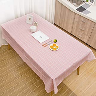 Alaso Nappes,Linge de Table, Nappe en Toile cirée Moderne en PVC Facile à Nettoyer Motif de Plaid Nappe de Table Maison Re...