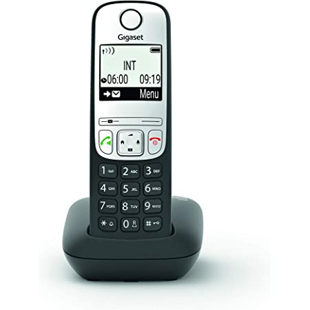 Gigaset A690 Black Wireless Analogue Dect Display Elektronik