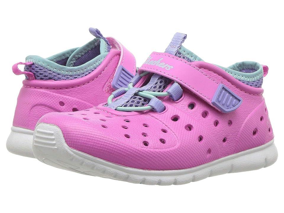 SKECHERS KIDS Hydrozooms (Toddler) (Pink/Lavender) Girl