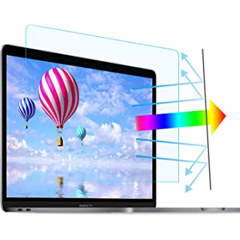 """2 Pack 15.6 in Laptop Anti Blue Light Screen Protector - Blue Light Blocking & Anti Glare Filter Film Eye Protection for 15.6"""" Display 16:9"""