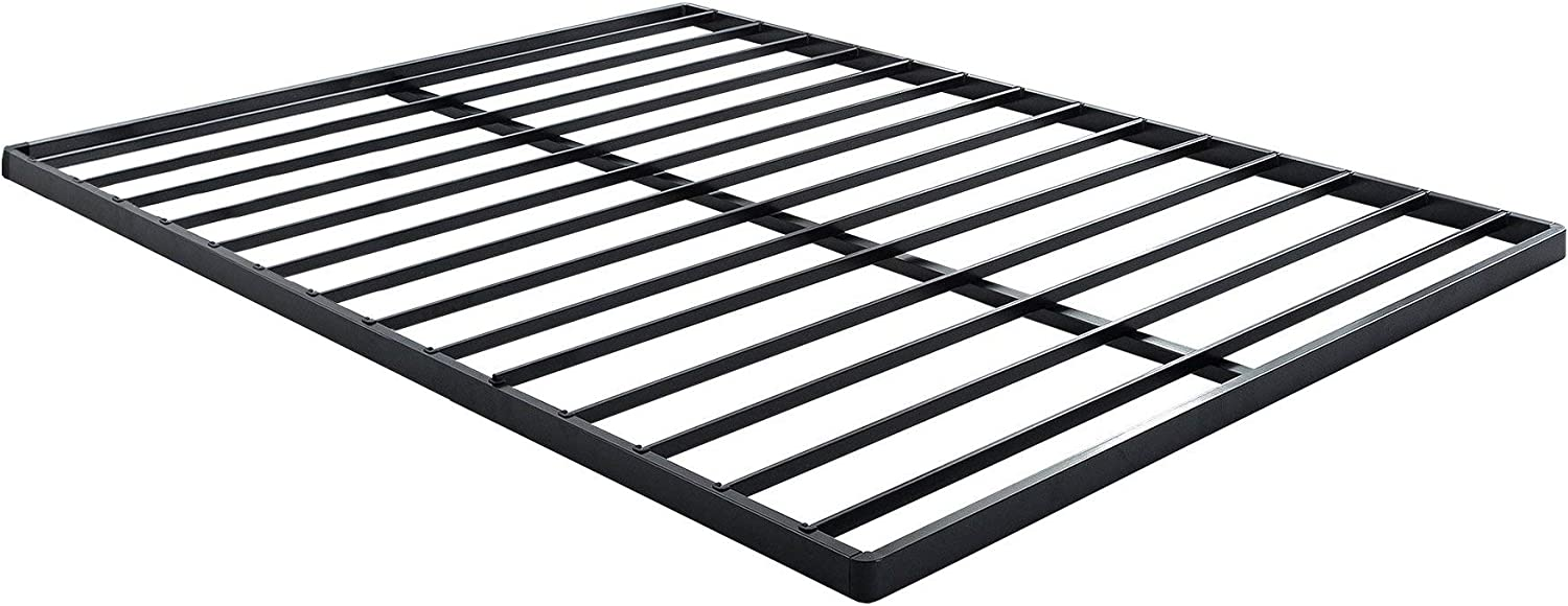 Zinus Easy Assembly Quick Lock 1.6 Inch Bunkie Board   Bed Slat Replacement, Queen