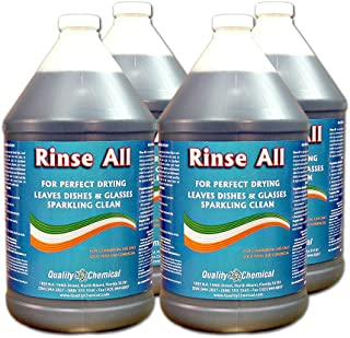 Rinse All - Commercial Industrial Grade Rinse Aid-4 gallon case