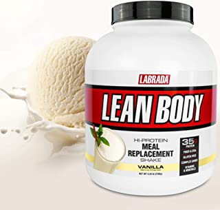 Lean Body All-in-One Vanilla Meal Replacement Shake. 35g Protein, Whey Blend, 7g Healthy Fats & Fibre, 22 Vitamins and Min...