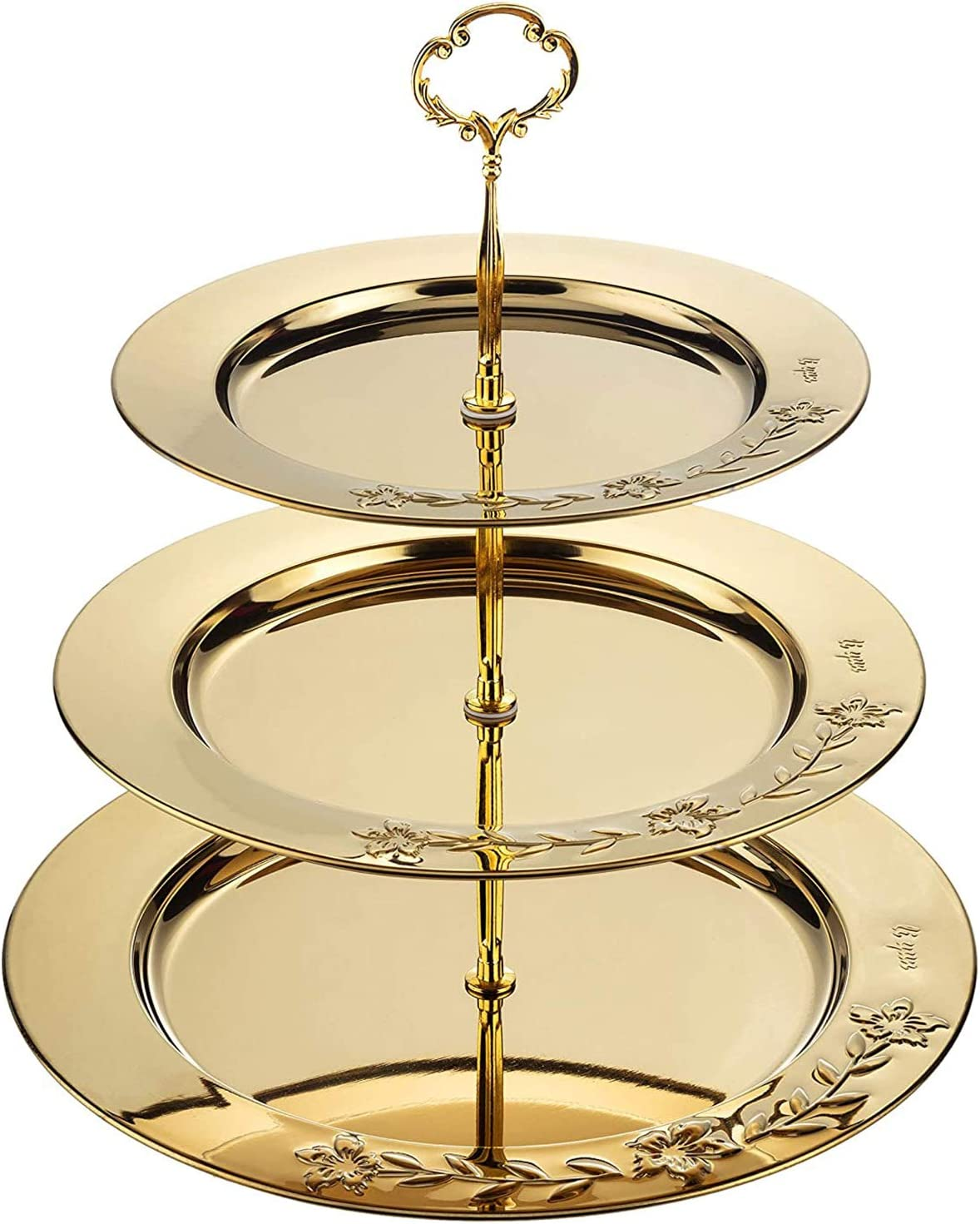 GYH Multi Layer Cake Stand Shipping included Stainless 3 Square Tier Steel Portland Mall S