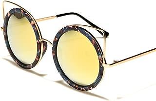 Old Fashioned Stylish Elegant Womens Round Cat Eye Sunglasses