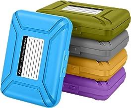 Sisun 3.5 inch Anti-Static HDD Storage Protection Case, 3.5
