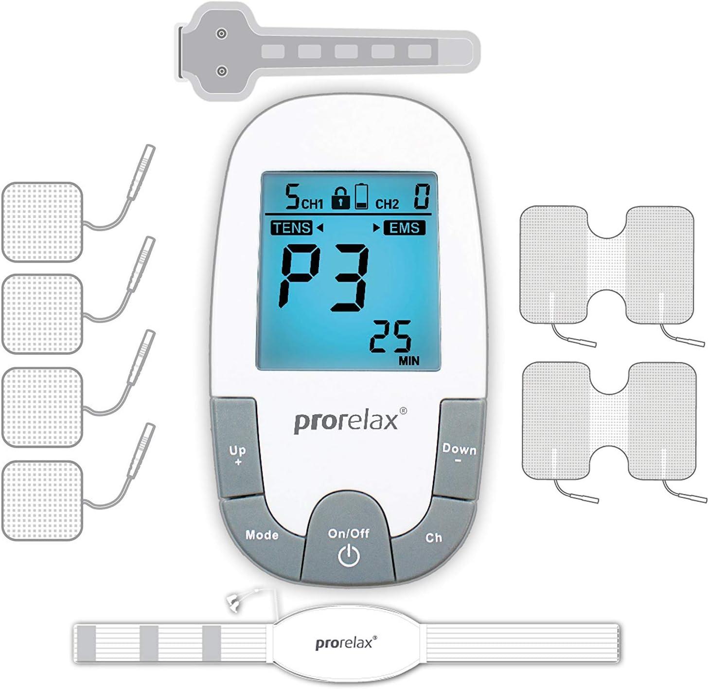 Prorelax Lax 85835 TENS EMS Indefinitely Super Electric w Max 87% OFF Plus Stimulator Duo