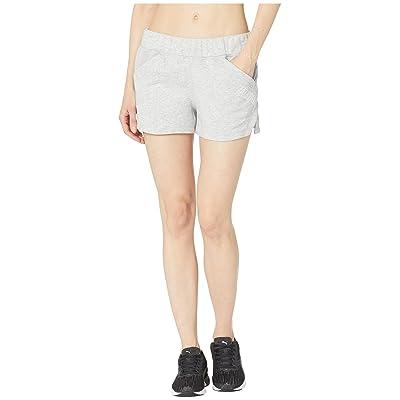 PUMA Yogini 3 Shorts (Light Grey Heather) Women