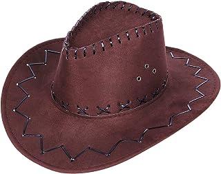 Cowboy Strohhut hell beige Hut Hüte Fasching Kostüm Zubehör Cowboykostüm