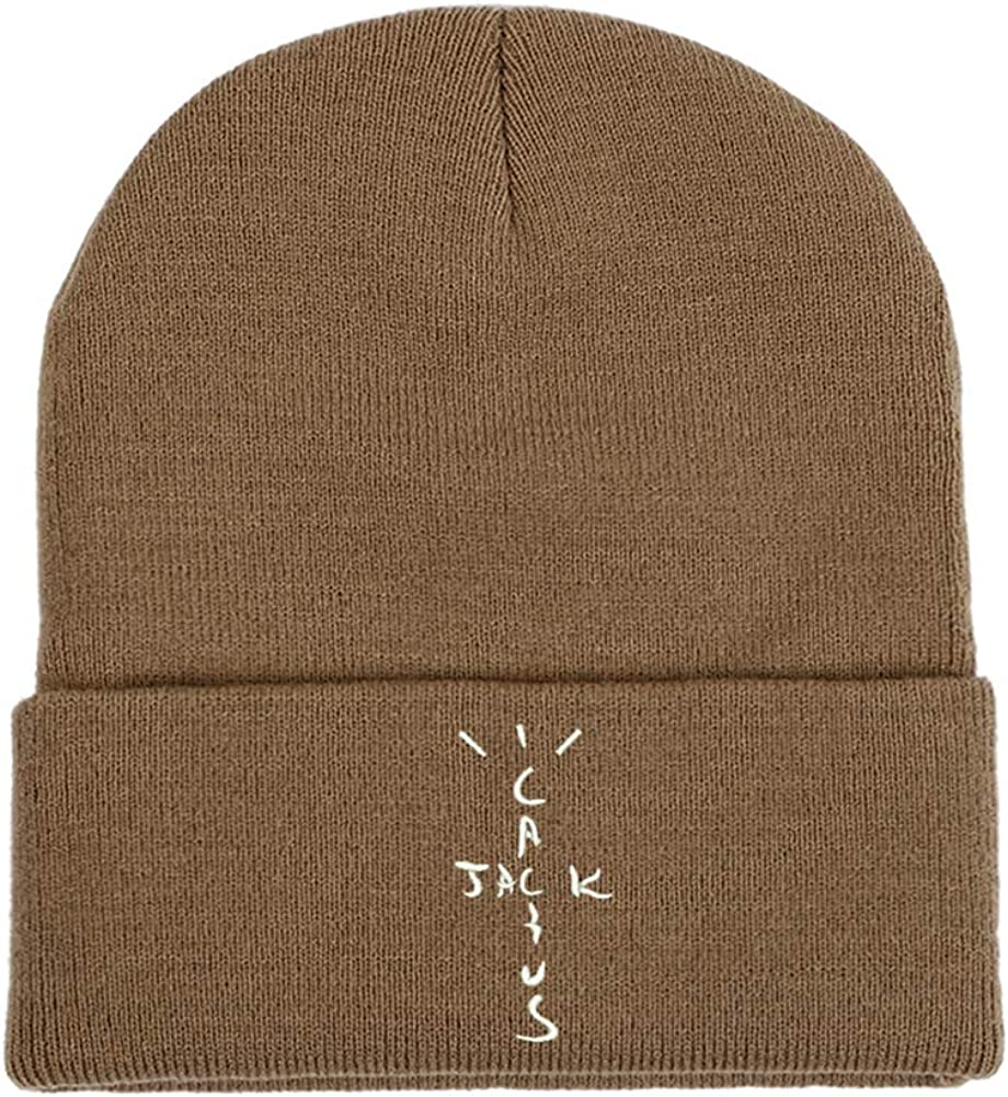 100% Cotton Cactus Jack Embroidery Knitted Hats Unisex Adult Adjustable Hip-hop Dad Hat Man Women Winter Outdoor ski Beanie